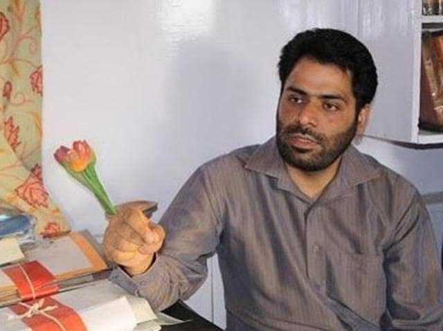 Khurram Parvez, 39, who is the chairperson of the Asian Federation Against Involuntary Disappearances, was put under preventive detention last week. (Facebook/Kashmir Voice)