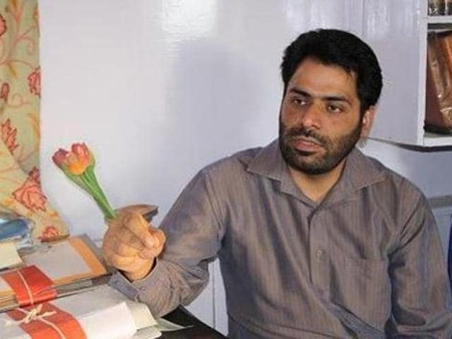 Khurram Parvez, 39, who is the chairperson of the Asian Federation Against Involuntary Disappearances, was put under preventive detention last week.(Facebook/Kashmir Voice)