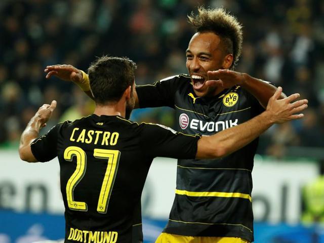 Pierre-Emerick Aubameyang,Borussia Dortmund,Bundesliga