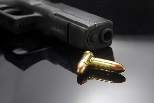 The head of an alleged mining mafia accidentally shot himself while cleaning his own pistol, police said Tuesday.(HT Representative Photo/Shutterstock)