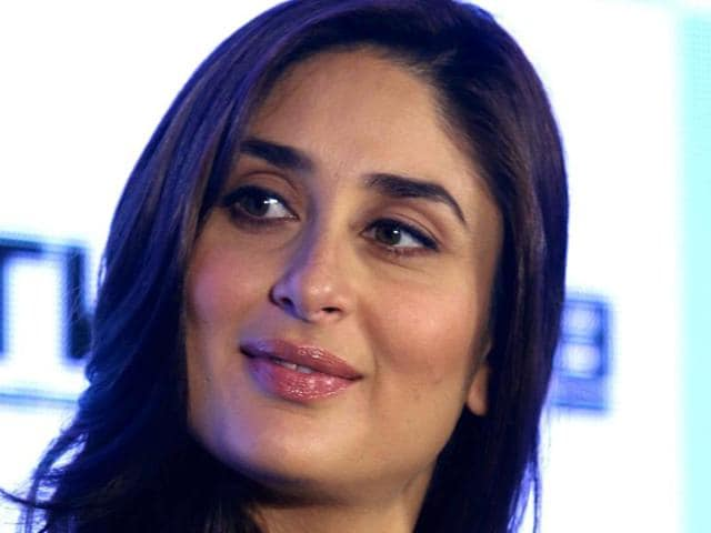 Kareena Kapoor Khan poses for a photograph during a promotional event in Mumbai on August 22.