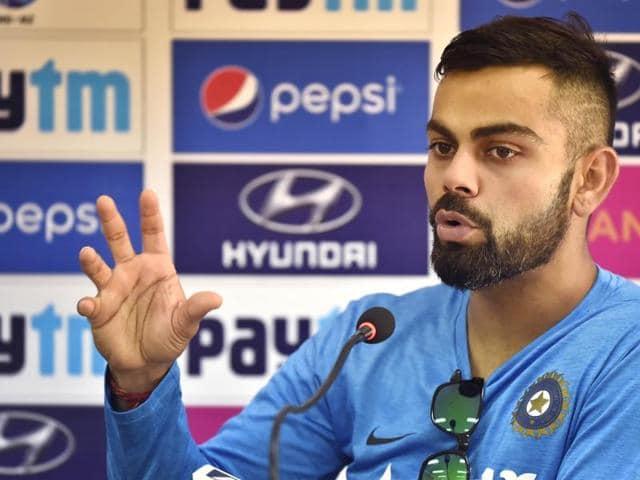 Captain Virat Kohli identified playing spin an area India batsmen need to work on.