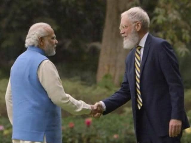 David Letterman,PM Modi interview,Modi interview to Letterman