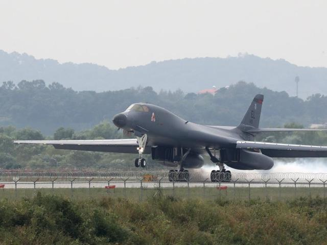 US bombers,Fighter Jets,Missile tests