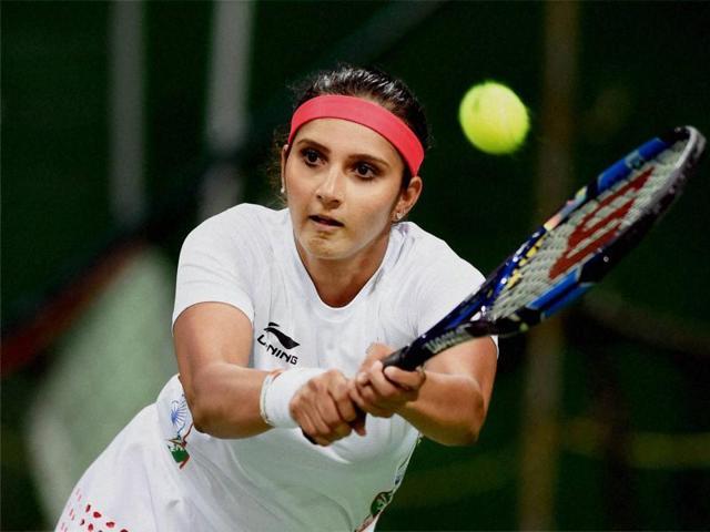 Sania Mirza and Barbora Strycova beat Misaki Doi and Kurumi Nara 6-7 (3), 7-5, 10-8.