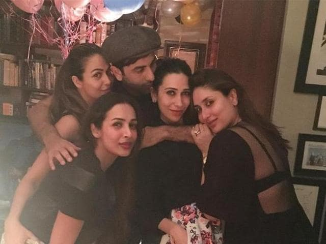 Sister Karisma Kapoor has posted pictures with Kareena Kapoor and other members of the Kapoor family on social media. (Instagram/Karisma Kapoor)