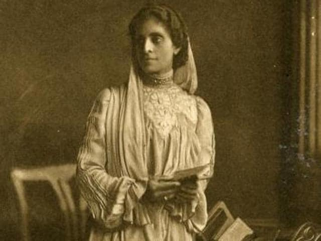 File photo of Cornelia Sorabji, the first woman to practice law in colonial India.(Courtesy open.ac.uk)