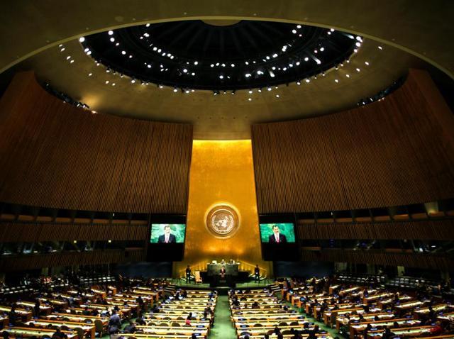 United Nations General Assembly,MJ Akbar,Hizbul Mujahideen