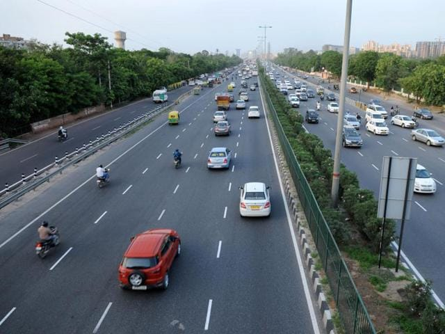 The Delhi Gurgaon expressway. The total planned expenditure is estimated at Rs 5.5 lakh crore this fiscal