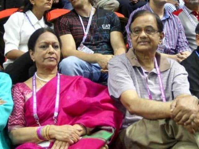 Nalini Chidambaram,p Chidambaram,ED