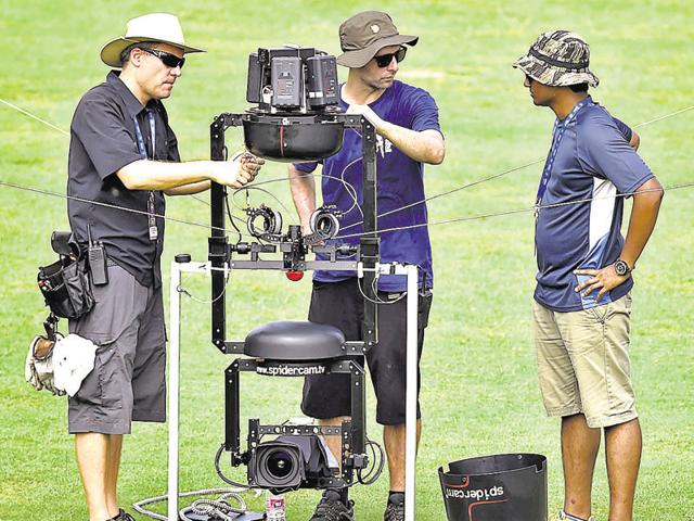 The Spidercam has been used in the one-day and T20 format worldwide and is meant to enhance the experience for television spectators.