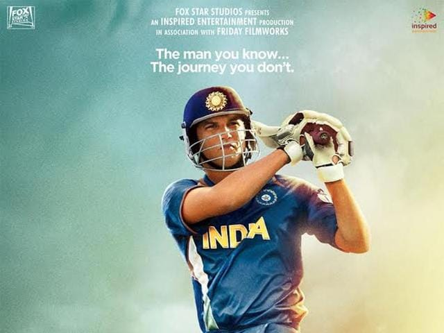 Sushant Singh rajput plays the lead role in MS Dhoni The Untoold Story.