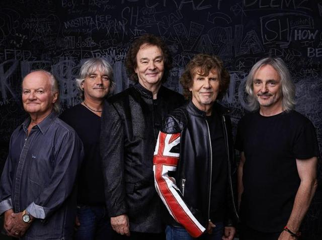 The '60s rock group, The Zombies,  will regroup at sea on the Moody Blues' upcoming festival cruise.