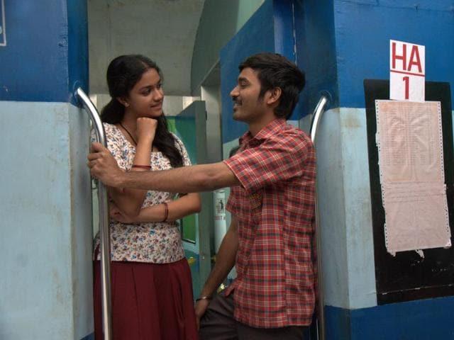 Thodari stars Dhanush and Keerthy Suresh in the lead roles.(Prabhu Solomon)