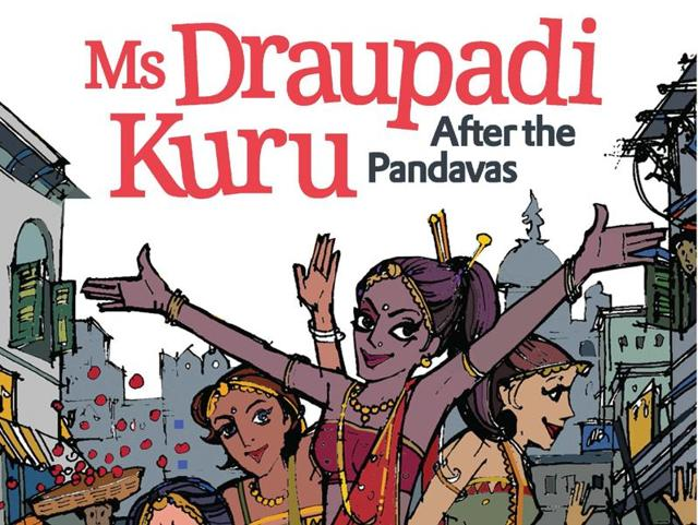 Trisha Das' latest book is a humorous take on Draupadi's life after she ascended  to the heaven.