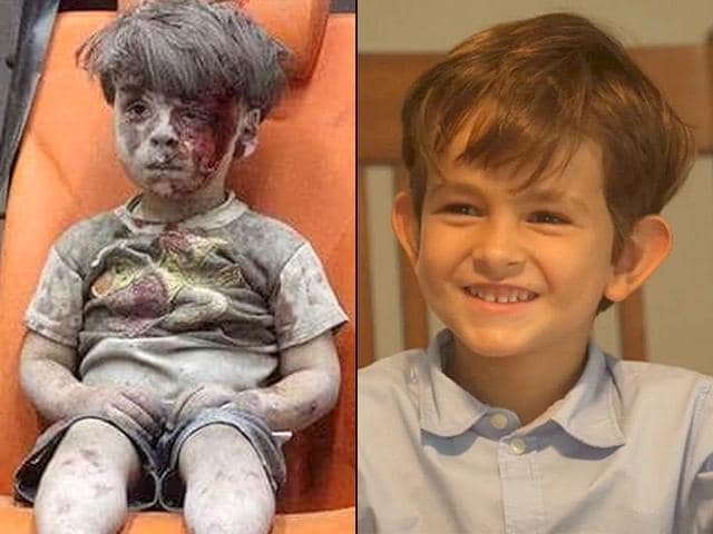 """In his letter, Alex said he wants Omran to come live with him and his younger sister Catherine and that they would """"all play together and he will be our brother."""""""