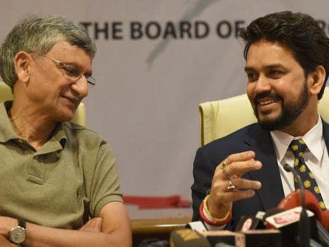 BCCI,Anurag Thakur,Ajay Shirke