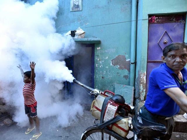 New Delhi: Municipal Corporation of Delhi (MCD) is conducting door-to-door fumigation drive to control breeding of mosquitoes.