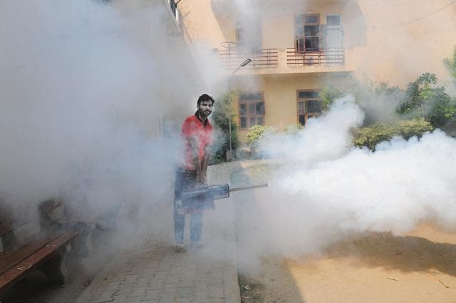 The practice has not only cut short the dependence on the civic body but also equipped associations with options of area specific fogging at suitable timings.