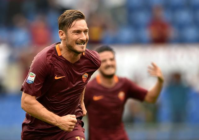 King of Rome: One-club man Francesco Totti shows age is just a number