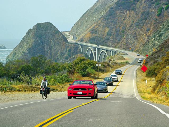 The 655 miles-long Pacific Highway attracts tourists throughout the year