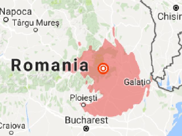 Romania earthquake