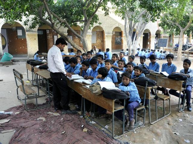 At 46 lakh – out of a total of 77 lakh teachers – government school teachers constitute a bulk among teachers in the country