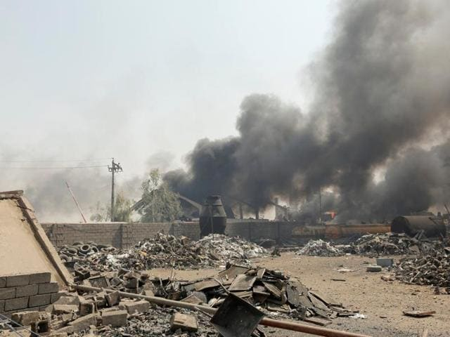 Several people were killed in a shooting and suicide attack in the city of Tikrit, Iraq.