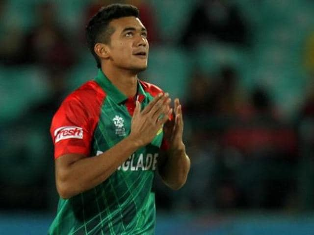 Taskin Ahmed (in picture) and Arafat Sunny's suspension in March in the middle of the World T20 in India caused outrage back home.