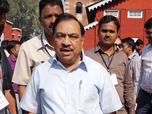 Eknath Khadse told HT that the decision was given in quasi-judicial capacity and AAP leaders are free to challenge it legally in court.