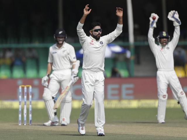 Ravindra Jadeja,India vs New Zealand,Kanpur Test