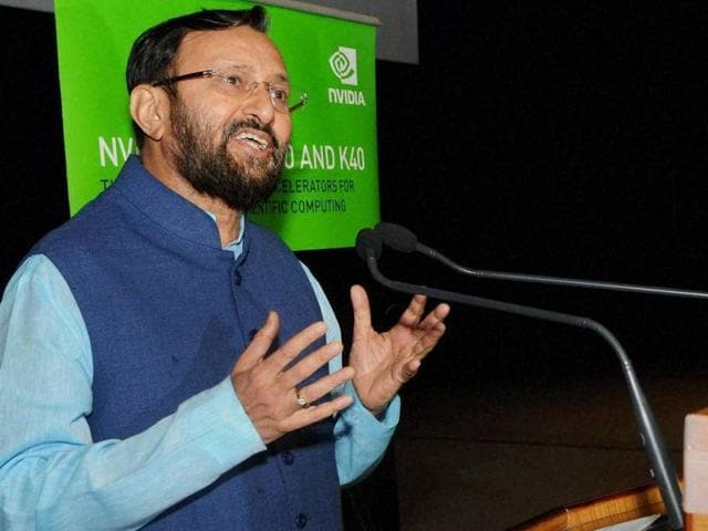 HRD minister Prakash Javadekar speaks at the Indian Institute of Technology, Guwahati (IIT-G).