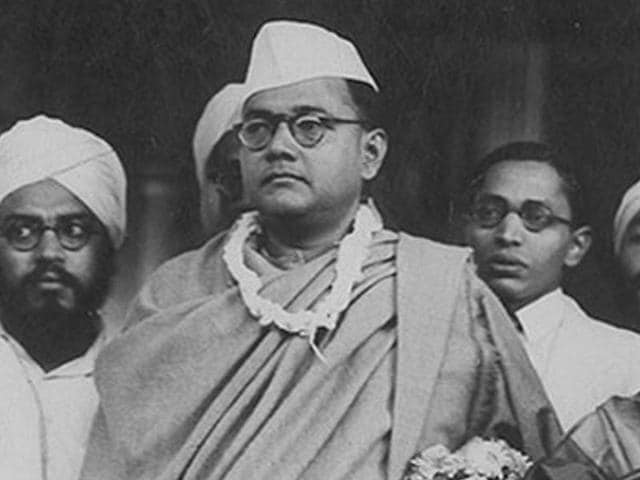 File photo of Netaji Subhas Chandra Bose.
