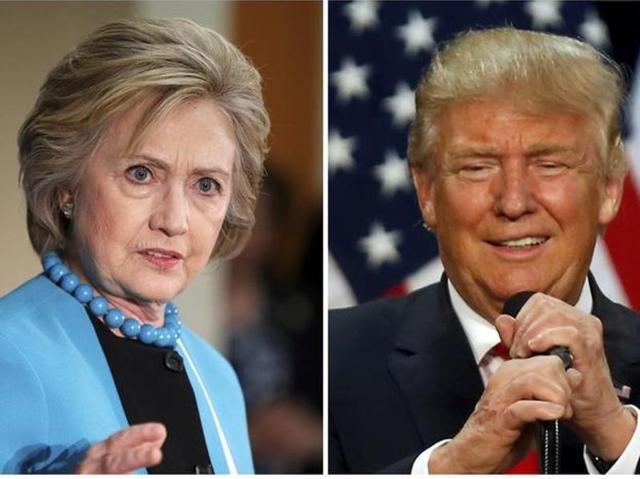 Donald Trump,Hillary Clinton,presidential election