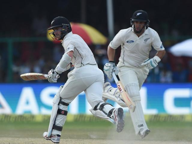 India-New Zealand Test series