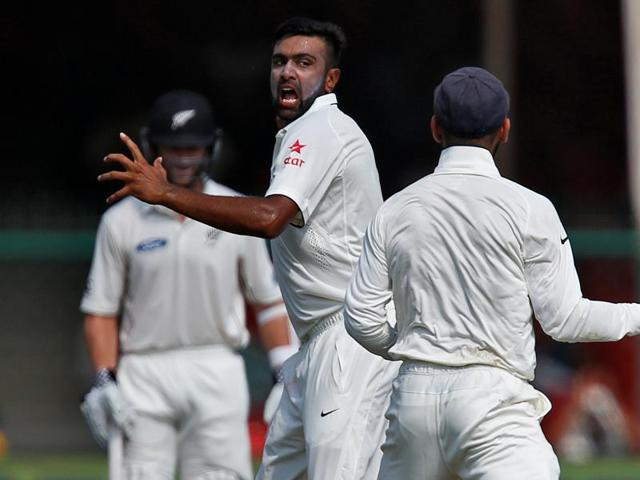 Ravichandran Ashwin became the fastest Indian bowler to pick 200 Test wickets.