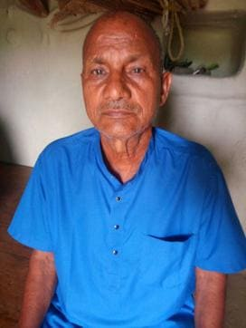 Widower,septuagenarian,Sidhi