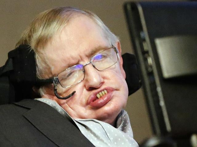 Last year Hawking had suggested that any civilisation reading our messages could be billions of years ahead of humans(AP Photo)