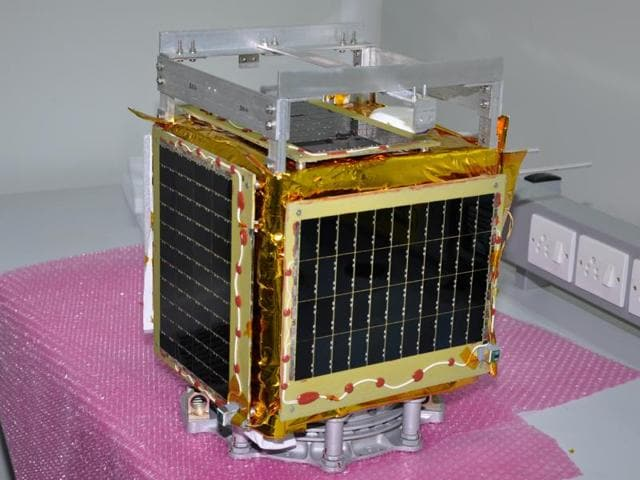 Isro launched their microsatellite Pratham from the Satish Dhawan Space Centre at Sriharikota in Andhra Pradesh.