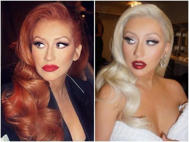 "Aguilera, 35, took to Instagram to reveal her new look which she captioned, ""Blondes really do have more fun."""