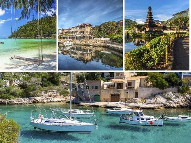 Honeymoon destinations,Top honeymoon destinations,Romantic destinations