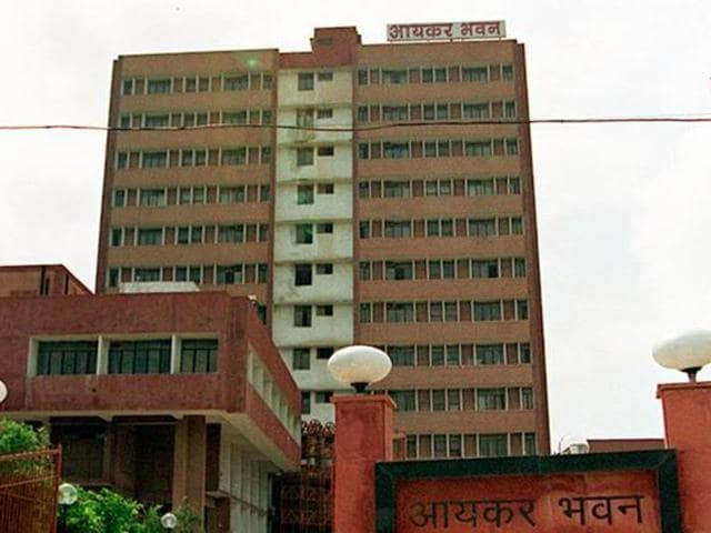 A file photo of the income tax office.  The department has sent out mails exhorting people to use income disclosure scheme (IDS) and avoid penal action