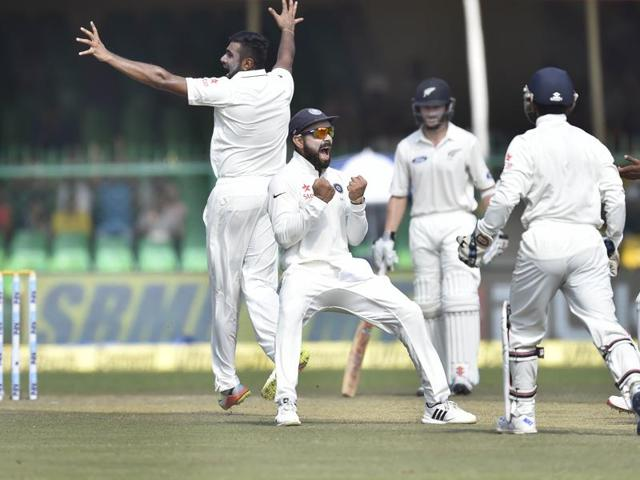 Virat Kohli's men will feature in another milestone in the second Test match against New Zealand in Kolkata - it will be India's 250th at home.