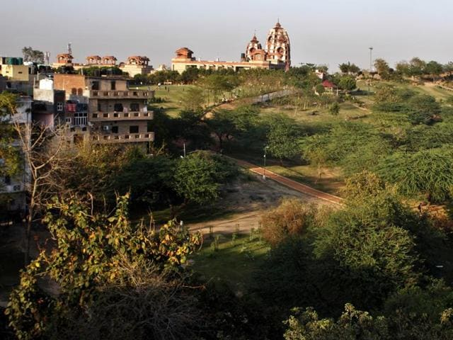 The land authority is planning to develop large green spaces at three places — Hauz Khas, Aastha Kunj near Nehru Place (above) and Swarn Jayanti Park in Rohini.