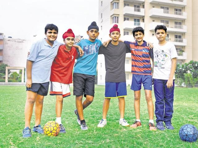 The team is training hard for hours to hone their skills.(Parveen Kumar/HT Photo)