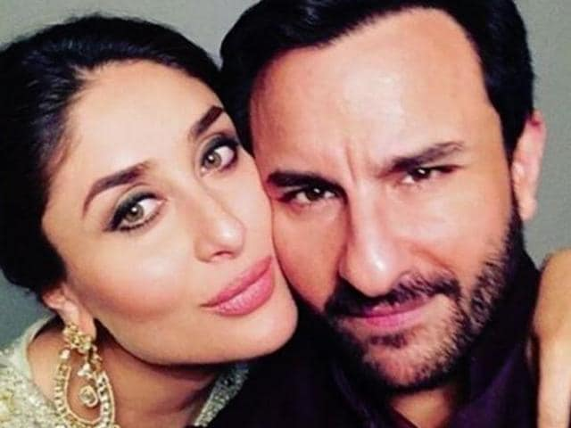 Kareena has said in an interview to Kamal Sidhu on her new show, Vogue BFFs that Saif has actually asked her to name their kid 'Saifeena'.