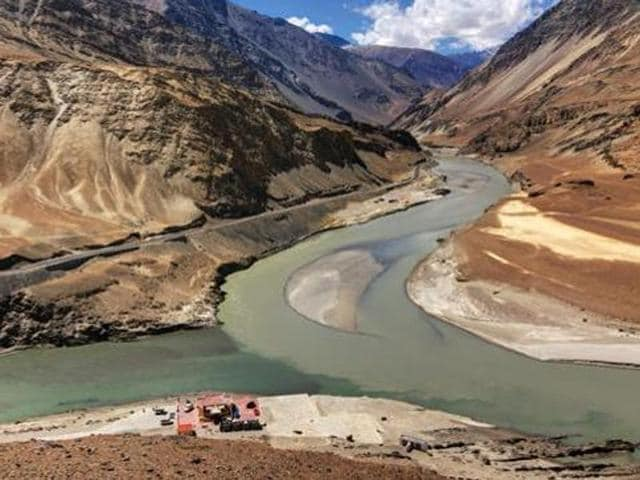Under the treaty, the water of six river - Beas, Ravi, Sutlej, Indus, Chenab and Jhelum - was to be shared between India and Pakistan.