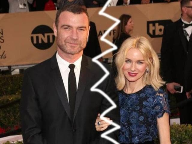 Actors Naomi Watts and Liev Schreiber are splitting up after 11 years together, the couple said in a statement on Monday.