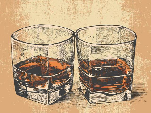Rye whiskey is made widely in the USA and must be distilled from at least 51% rye.