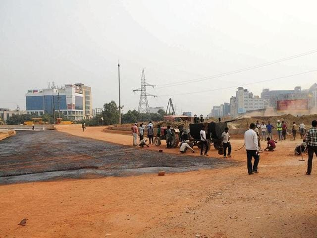 Electronic Tower intersection,NH24,Indirapuram
